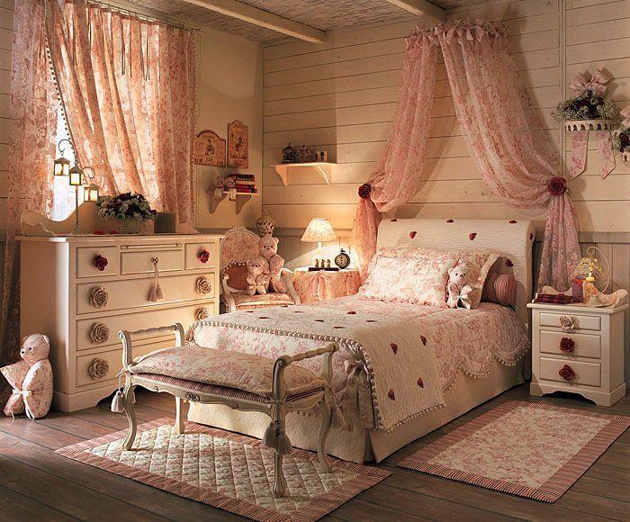 Le pi belle camere da letto in stile shabby chic il for Nuove case in stile cottage