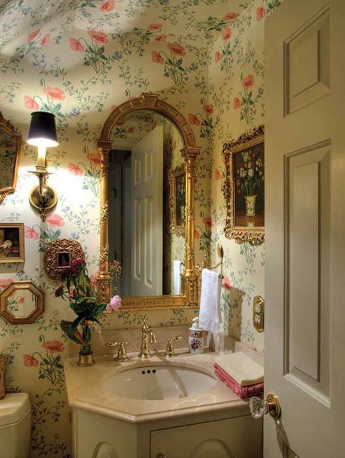 Raccolta foto bagni e sotto lavello shabby chic e non solo for English cottage bathroom ideas