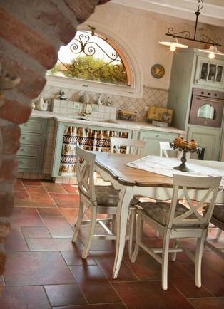 Le vecchie cucine a legna riportate in stile shabby chic - Il blog ...
