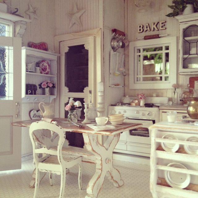 Idee per arredare la cucina in stile shabby chic - Il blog ...