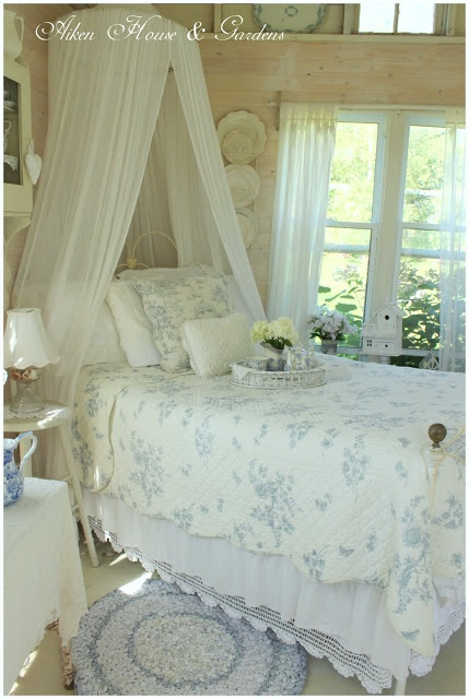 Le belle camerette in stile shabby chic il blog italiano - Camerette stile country chic ...