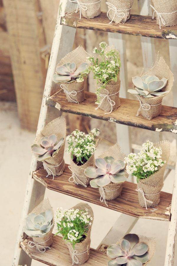 Idea regalo vasetti porta piante shabby