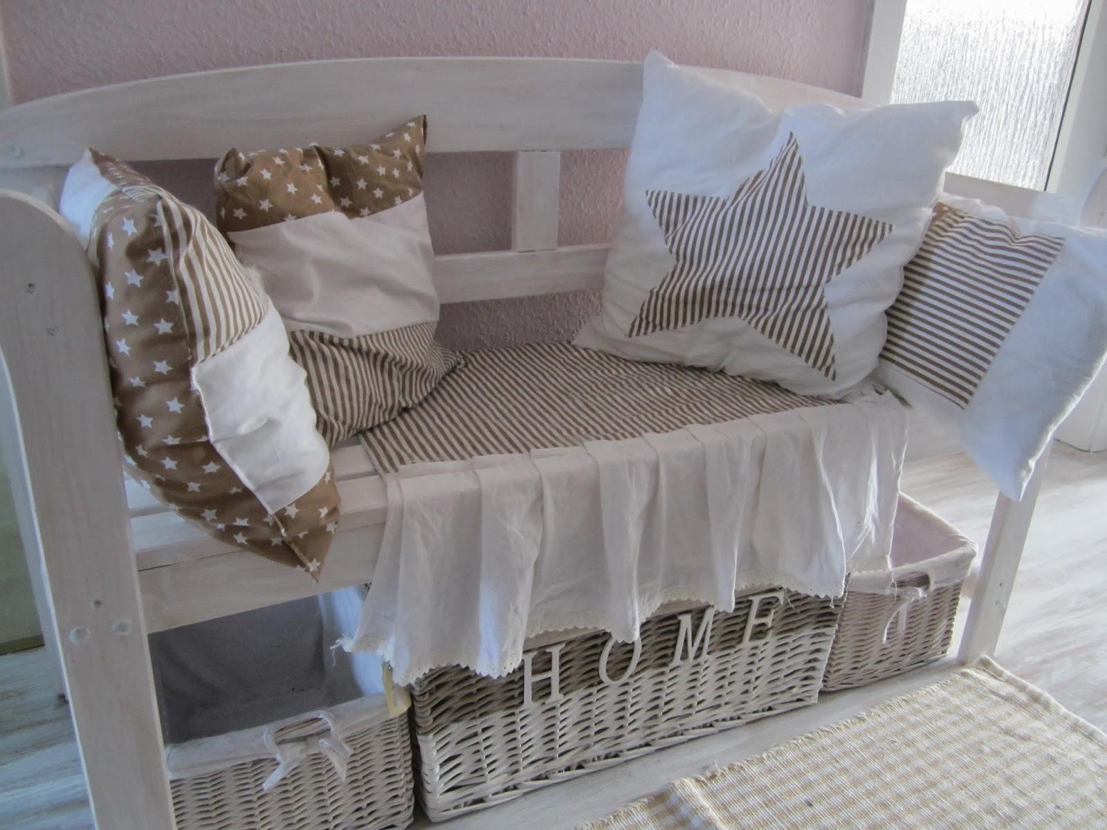 Le panche divano in stile shabby chic - Il blog italiano sullo ...