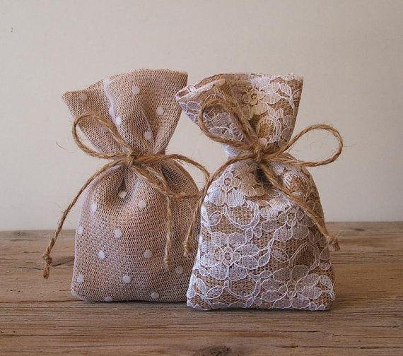 Ispirazioni per sacchetti porta confetti Shabby Chic