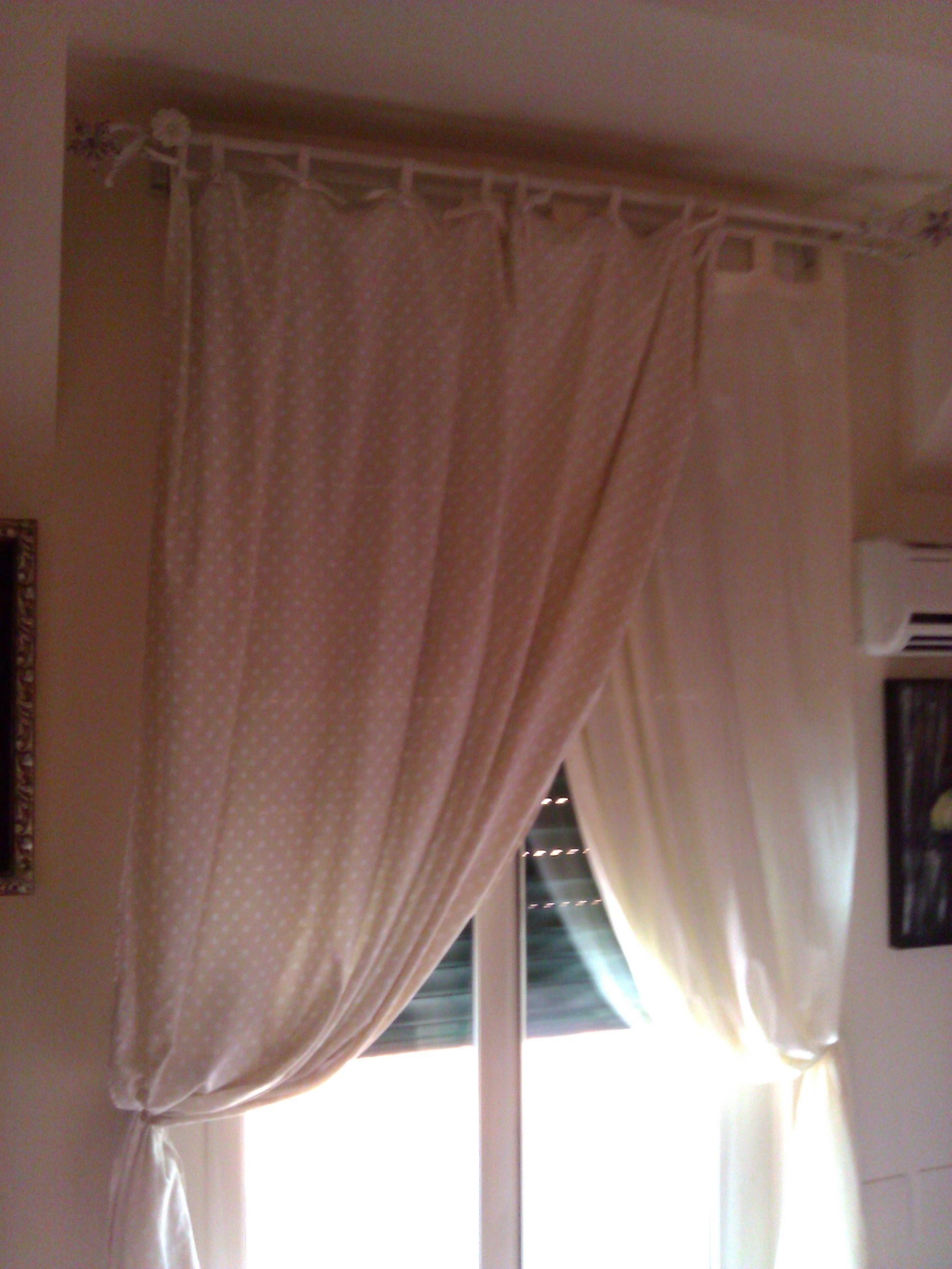 Famoso Come realizzare una tenda in Stile Shabby Chic - Il blog italiano  IU66