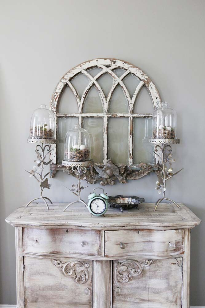 Mobile credenza basso in stile shabby chic il blog for Shabby chic blog italiani