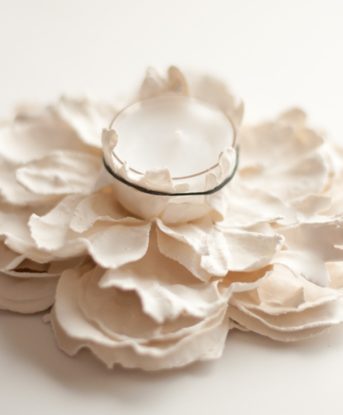 Plaster-Flower-Votives-6