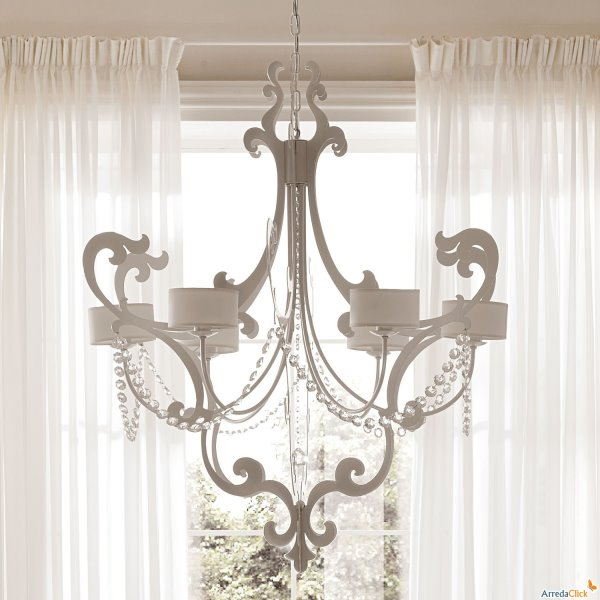 Vecchi lampadari in Stile Shabby Chic - Il blog italiano sullo Shabby ...
