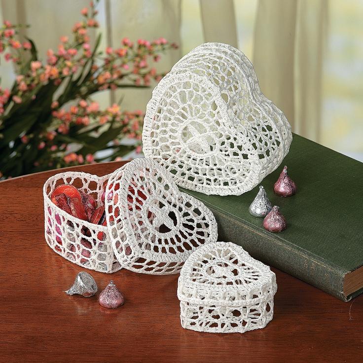 Barattoli e contenitori di vetro in tema natalizio il for Merletti all uncinetto