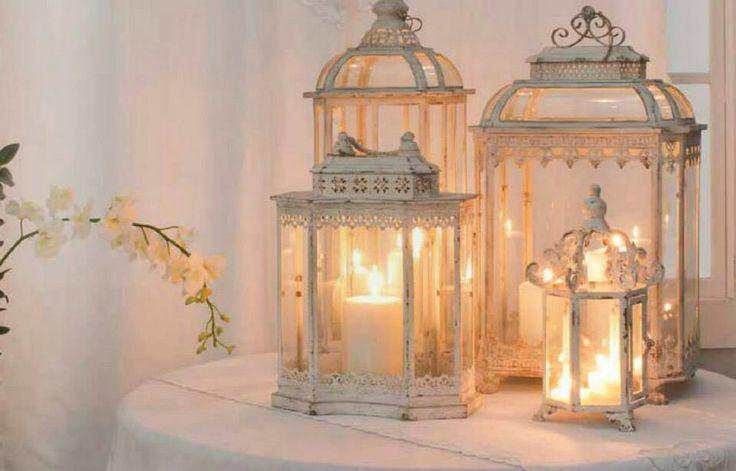 Speciale lanterne in arredamento shabby il blog italiano - Lanterne arredo casa ...