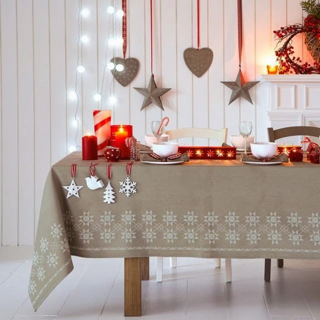 Ben noto Idee per imbandire la tavola Shabby a Natale - Il blog italiano  QD61