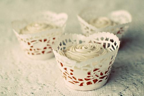 Idea per eventi Shabby tutorial per creare delle coppette per Cupcake