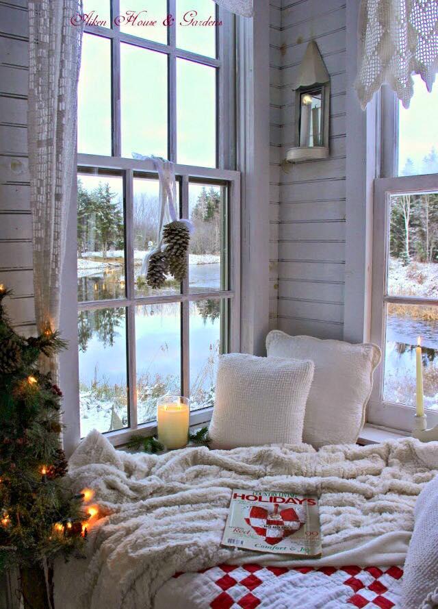 Come addobbare la casa Shabby a Natale