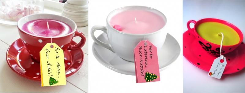 Idee regalo candele fai da te con tutorial il blog for Oggetti design economici