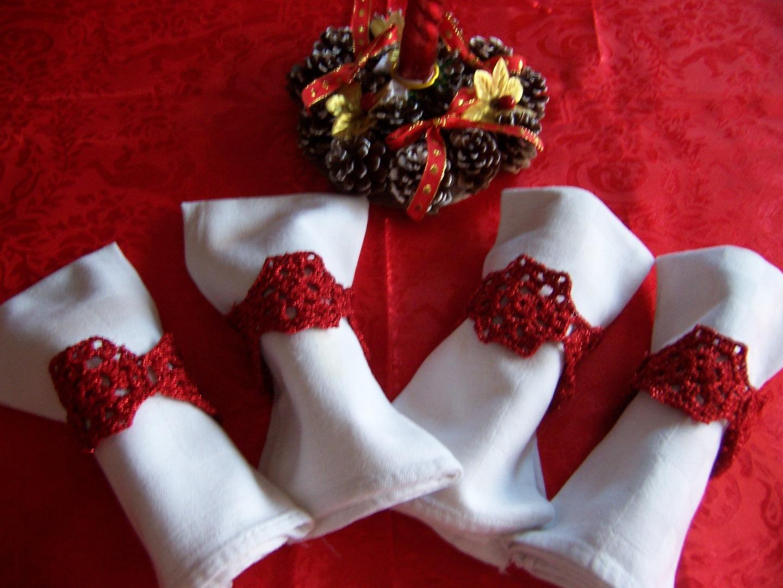 Segnaposto natalizi all 39 uncinetto il blog italiano sullo for Idee uncinetto