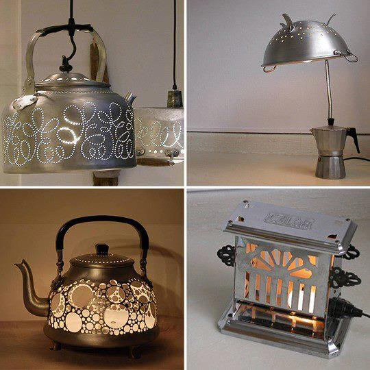 Idee e riciclo di vecchi oggetti in disuso negli ambienti Shabby