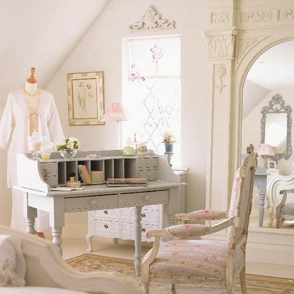 Raffinatezza bellezza e luminosità degli ambienti in Stile Shabby Chic