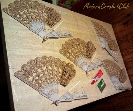 Ventagli Realizzati Alluncinetto E Merletto Il Blog Italiano