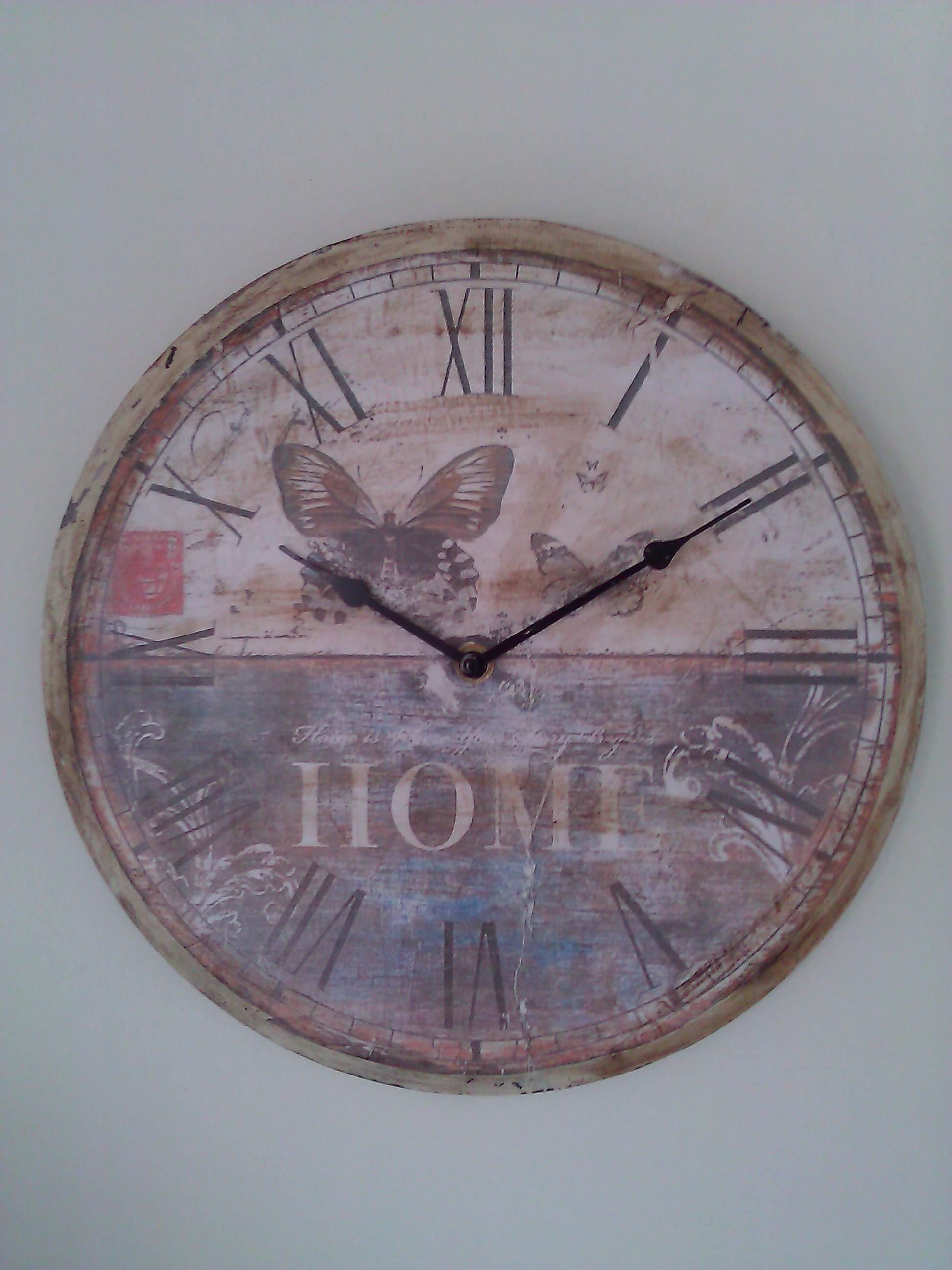 Come realizzare un orologio da parete Shabby