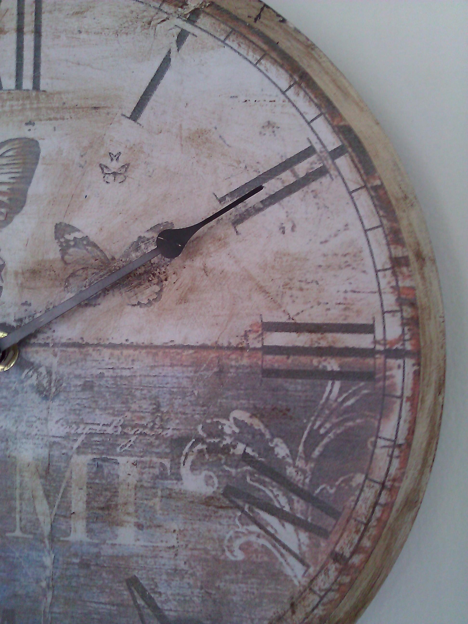 Come realizzare un orologio da parete shabby il blog for Orologio shabby chic