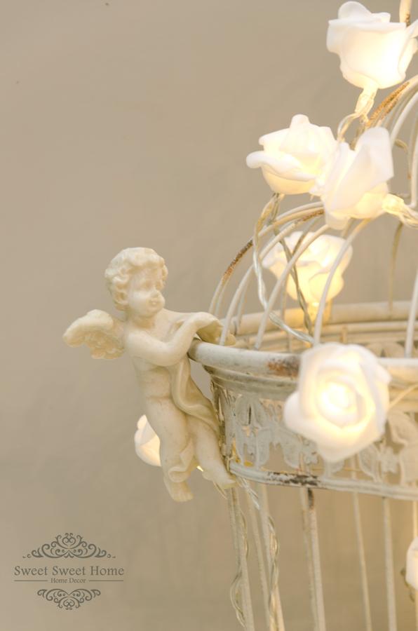 Angeli o Putti nelle decorazioni Shabby