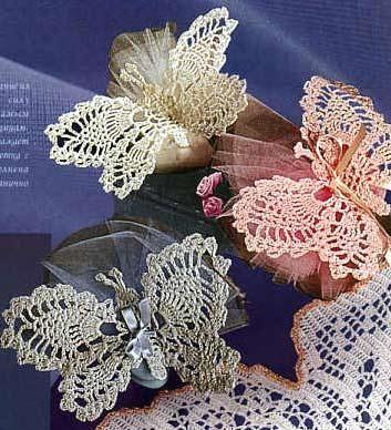 Farfalle Alluncinetto Con Schema Il Blog Italiano Sullo Shabby