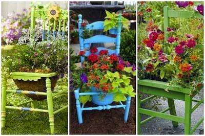 Terrazze verande e giardini shabby idee per un 39 estate il blog italiano sullo shabby chic e non - Idee giardino fai da te ...