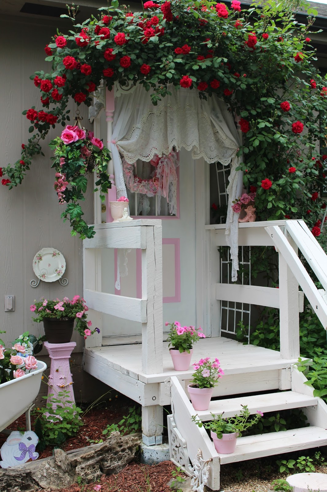 Fiori odori e colori nei giardini in stile shabby il - Shabby chic giardino ...
