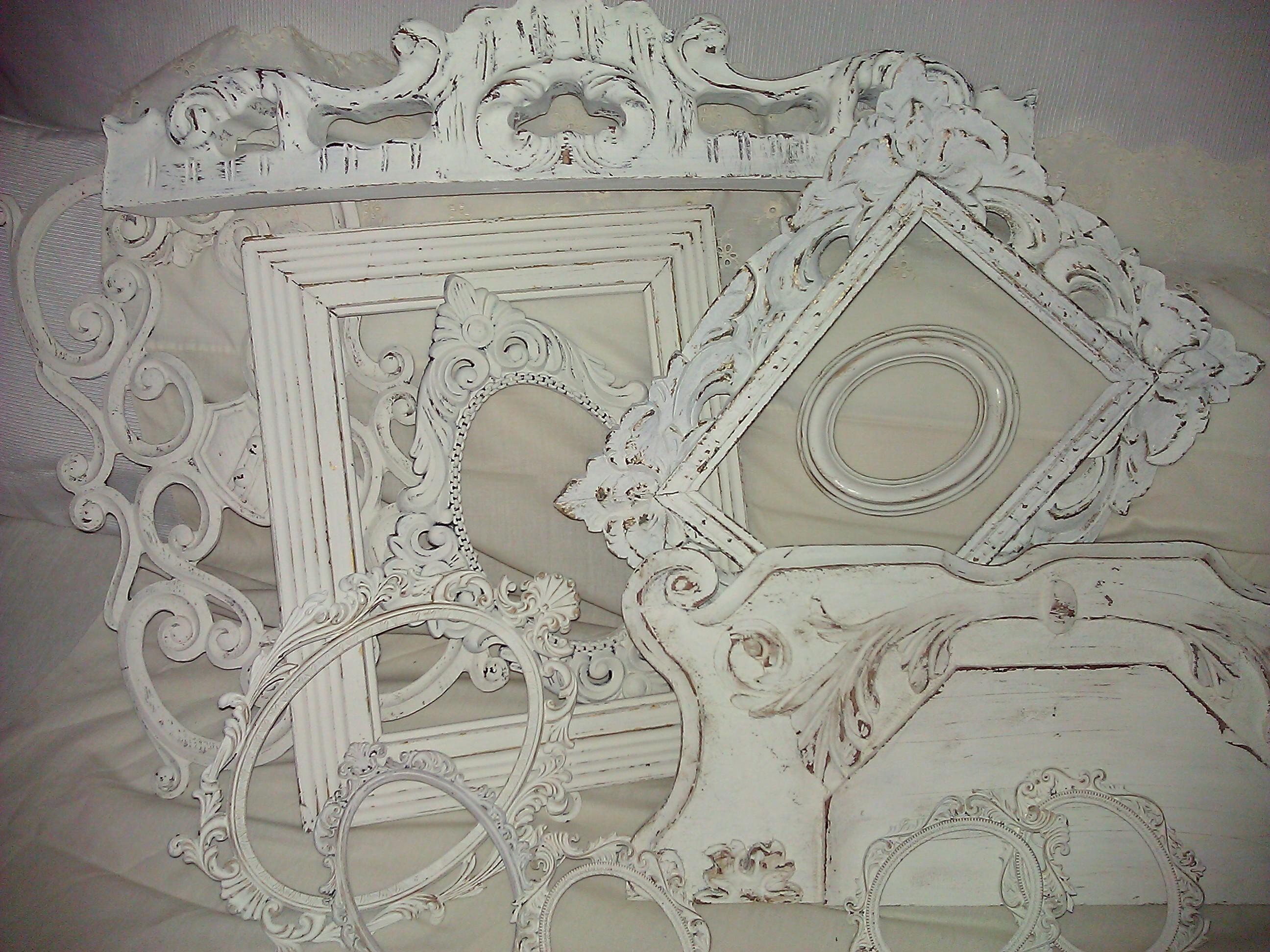 cornici e specchi in stile shabby il blog italiano sullo
