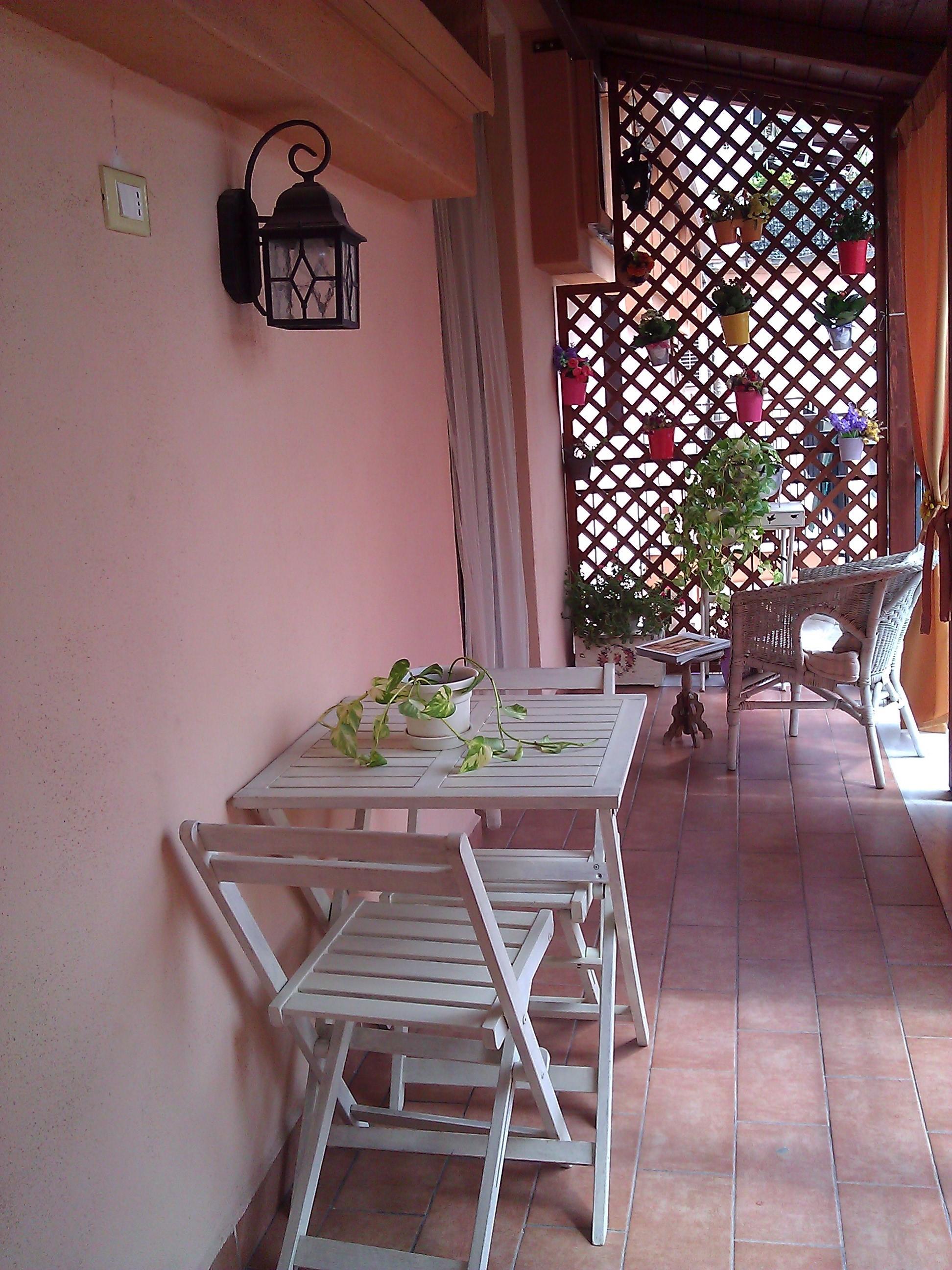 Angolo di Paradiso Shabby nel balcone di casa mia