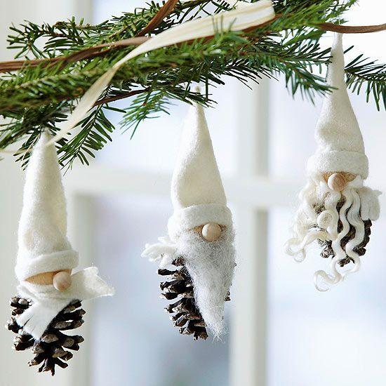Pensando al Natale, idee e decori con le pigne