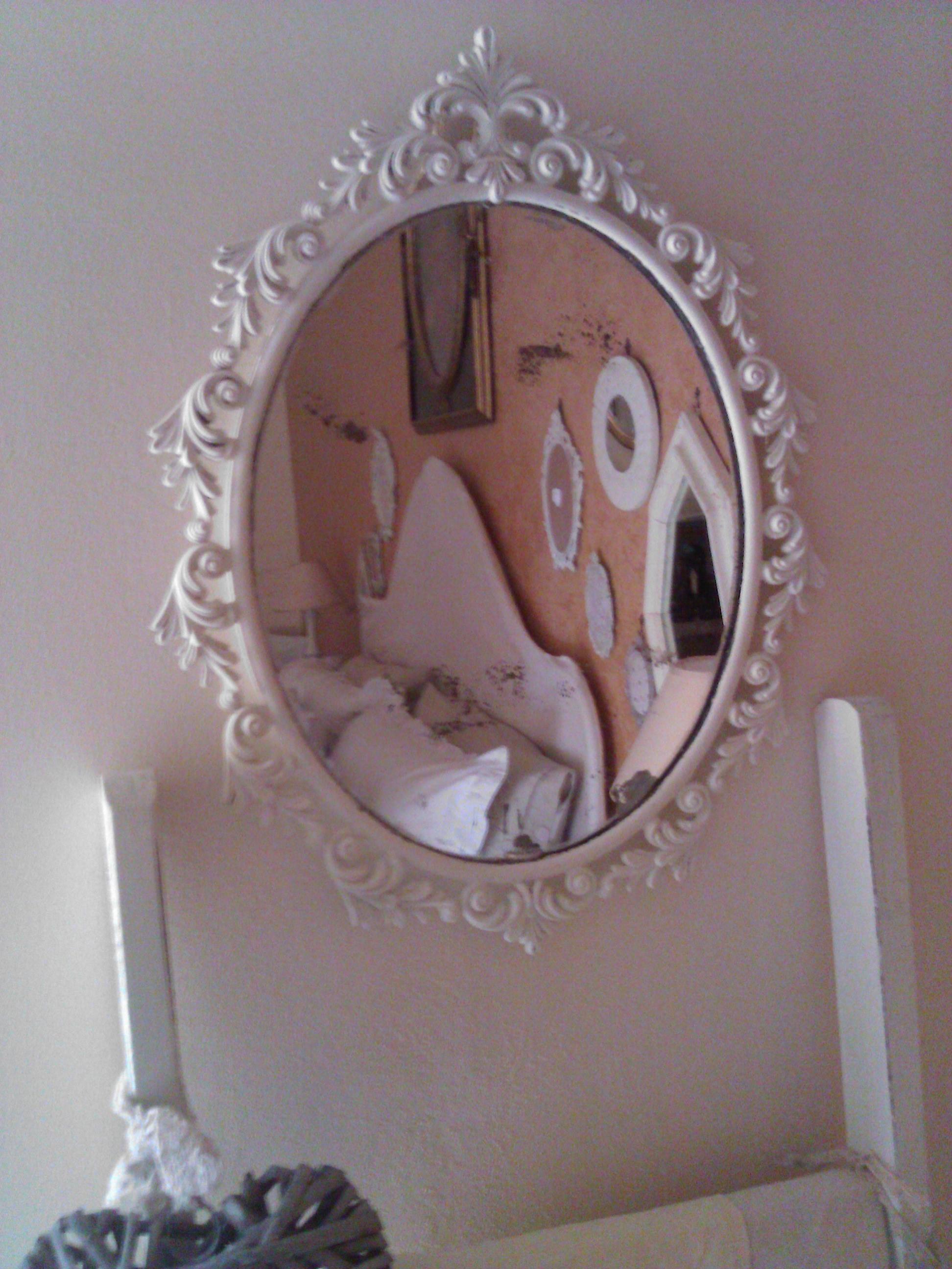 Cornici e specchi in stile shabby il blog italiano sullo shabby chic e non solo - Specchi in stile ...