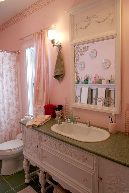 Come trasformare un semplice bagno in uno shabby il for Shabby chic blog italiani