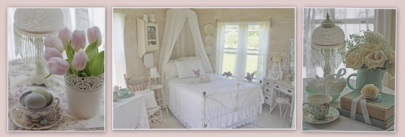 Alcuni dettagli e ispirazioni di un cottage Shabby Canadese