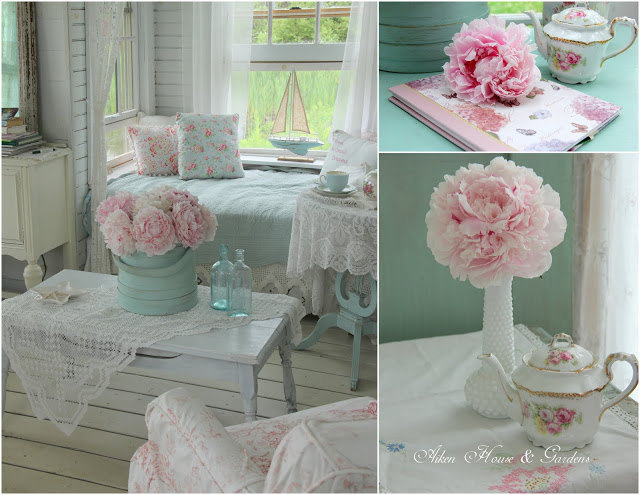 peonies in sunroom10