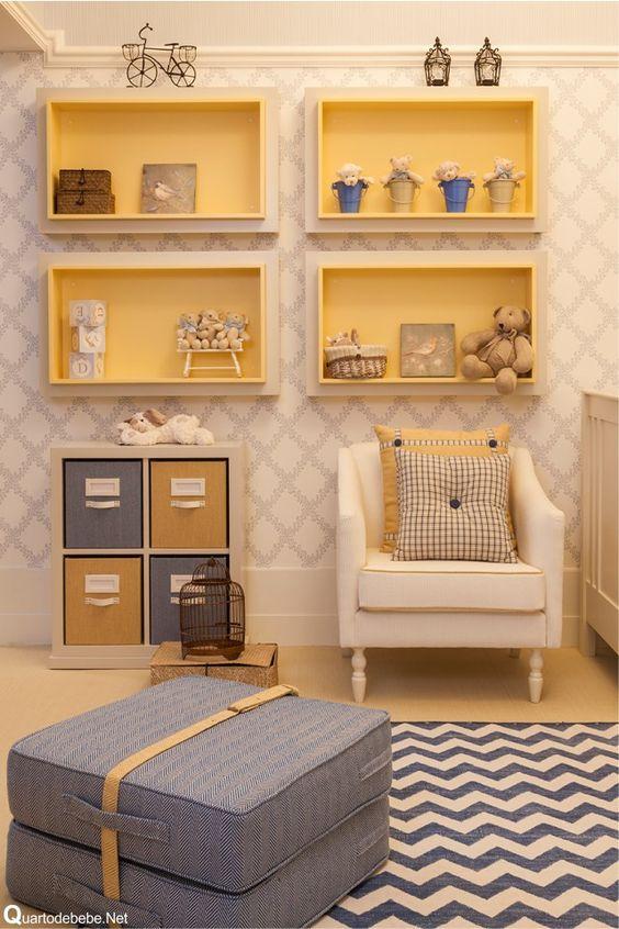 Come decorare una cameretta con mensole particolari