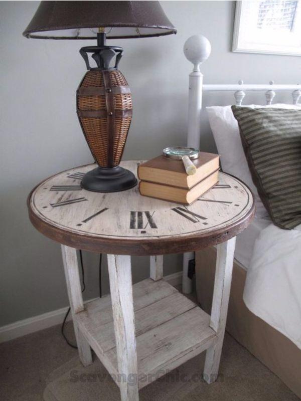 Tutorial per creare un tavolinetto Shabby partendo da uno sgabello