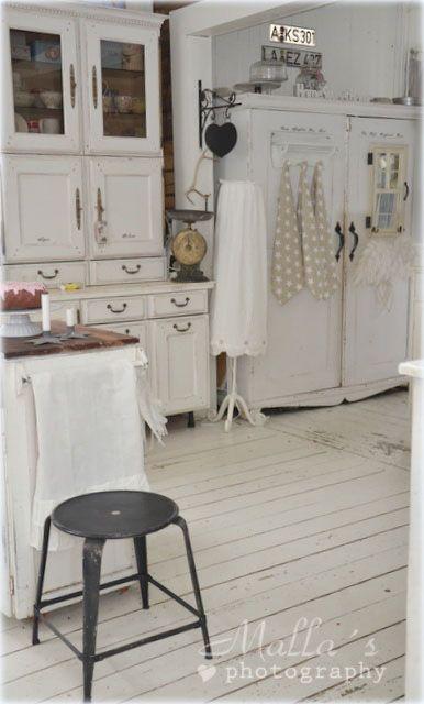Arredi e particolari delle case nordiche in stile shabby for Case in stile cottage