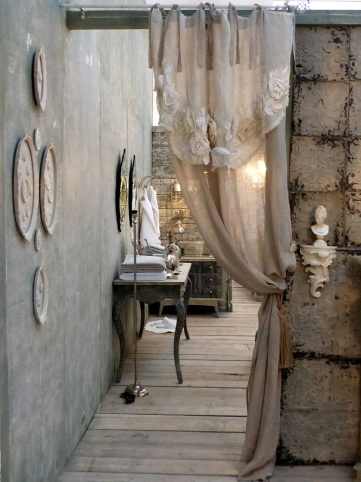 Bellissime tende nell 39 arredamento shabby chic il blog for Shabby chic blog italiani