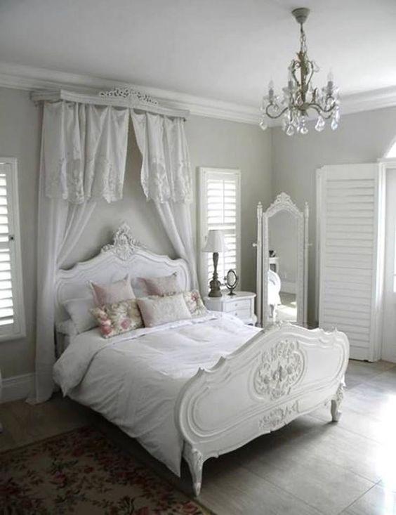 Spunti per arredare una camera da letto in stile Shabby