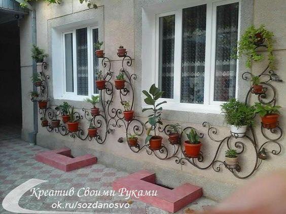 Tante idee per abbellire giardini e terrazze con il riciclo di oggetti