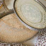 Incorniciare centrini in merletto e all'uncinetto per lo stile Shabby