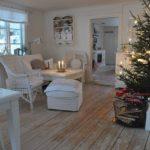 Il Natale con semplicità gusto ed eleganza in ambienti Shabby