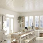 Restyling di tavoli per sala da pranzo in stile Shabby Chic