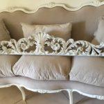 Grande Fregio per salone o Testiera letto nello stile Shabby