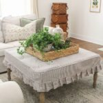Rivestire panche, tavolini e sgabelli in tessuto per lo stile Shabby in tempo di Coronavirus