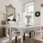 Che bei tavoli rustici, nelle cucine shabby!